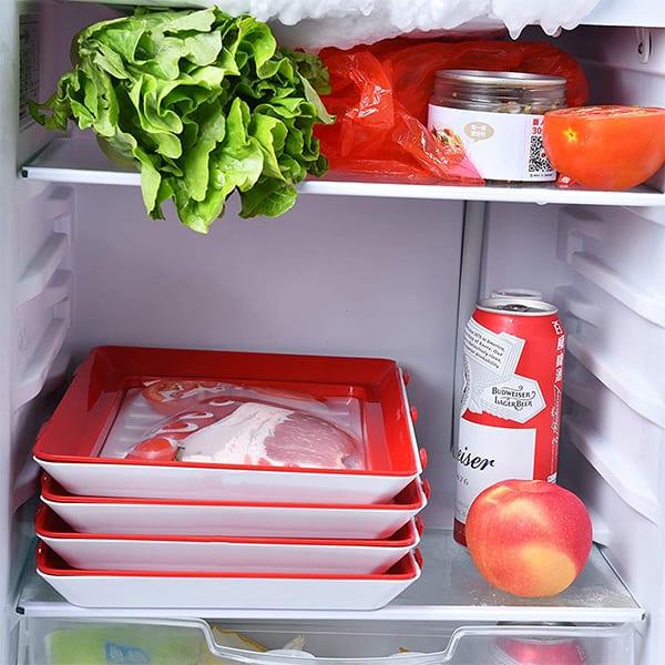 Pogodan za mikrovalnu pećnicu, hladnjak i zamrzivač image